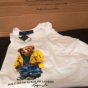 Polo Ralph Lauren Polo Bear White T-Shirt
